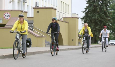 sergant hipertenzija, galite važiuoti dviračiu